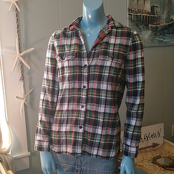 Madewell Tops - Soft Madewell Flannel Button Down